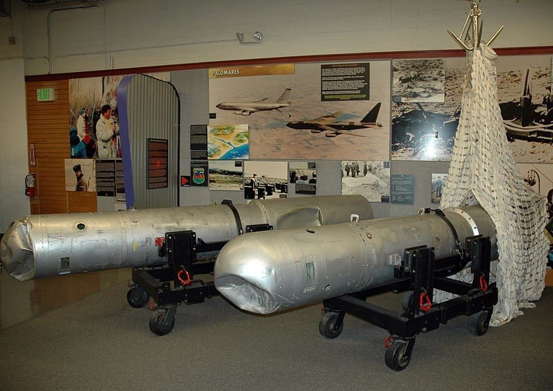 Nuclear bomb casings