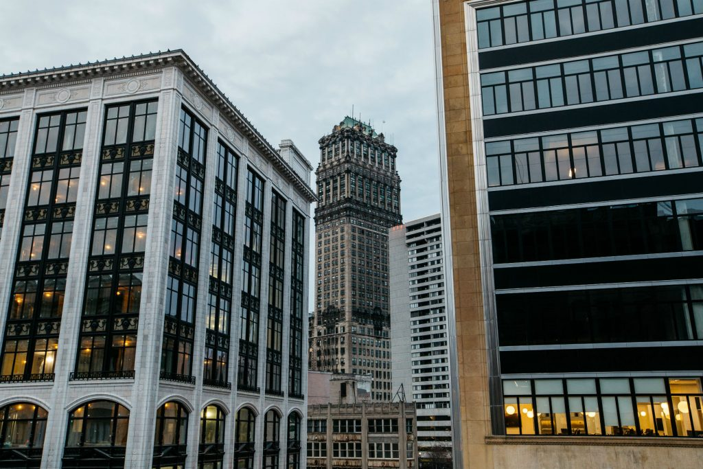 Book Tower in Downtown Detroit. Source: Michelle Girard