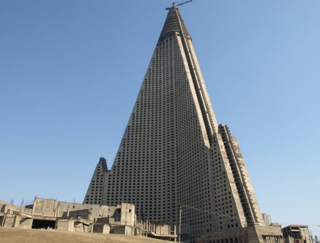 The Ryugyong. Source: Wikimedia